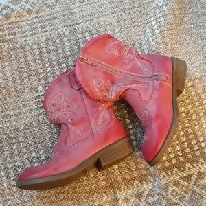 Like new pink cowgirl boots!